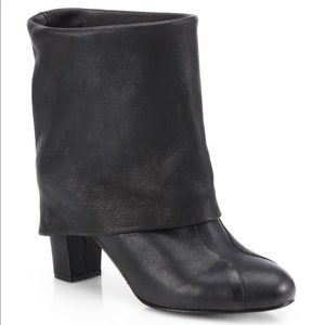 See by Chloe fold over Melia slouchy ankle boots